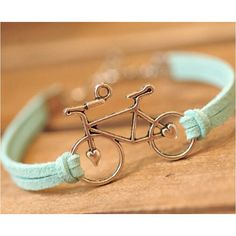 Women Jewelry Vintage Leather Rope Bicycle Charm Bracelets Personalized Handmade Rope Chain Bike Wrap Bracelet Cuff Bangle