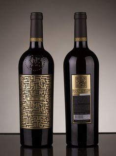 Interesante diseño del vino Mysterium