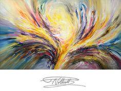 Abstrakte Malerei 120 cm x 70 cm Gemälde von abstractpaintingshop
