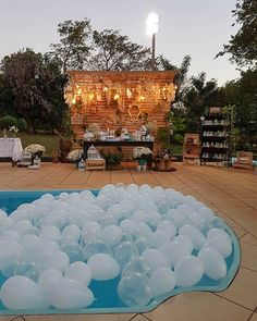 2020 World Travel Populler Travel Country – 2020 World Travel. Pool Party Decorations, Wedding Decorations, Swimming Pool Decorations, Sommer Pool Party, Sunset Party, Pool Wedding, Aloha Party, 18th Birthday Party, Summer Pool