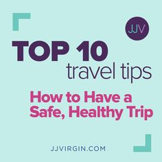 Traveling doesn't have to mean sabotaging your health goals! Check out my top ten tips to be sure you work, play, and rest well, no matter where you are. Nutrition Education, Health And Nutrition, Weight Loss Plans, Weight Gain, Healthy Food Swaps, Health Tips For Women, Thyroid Health, Health Goals, Holistic Healing