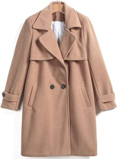 Shop Khaki Lapel Pockets Loose Woolen Coat online. Sheinside offers Khaki Lapel Pockets Loose Woolen Coat & more to fit your fashionable needs. Free Shipping Worldwide!