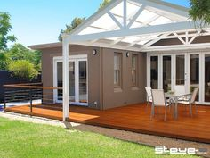Tagged as Decking, Indoor-Outdoor, Outdoor Living, Pergolas. More inspiration at www.spaced.com.au