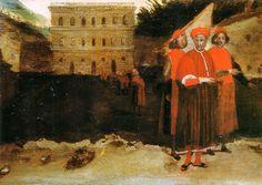 Alessandro Allori - Luca Pitti davanti al suo palazzo