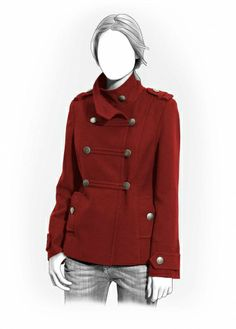 Lekala Sewing Patterns - Military coat Pretty sure I would never be good enough to so this ... but a girl can dream.