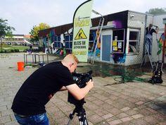 Opname weekend De Klusbrigade RTL4 bij Kruiskamp Onderneemt in Amersfoort. Mede mogelijk gemaakt met HaVeP Workwear / Protective wear.