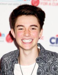 Greyson smile