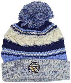 NHL Pittsburgh Penguins Women's CCM Cuffed Knit Hat With Pom, One Size, Light Blue/Blue/White adidas. $10.35. Save 42% Off!