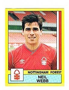 Neil Webb of Nottingham Forest - Football 87 - Panini - English & Scottish Leagues Nottingham Forest, Football Season, Seasons, Baseball Cards, Sports, Hs Sports, Seasons Of The Year, Sport