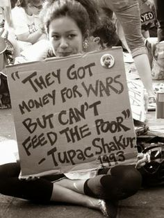 Wars make rich men richer. The poor are not important to them good ole White Boys!
