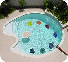 Swimming Pool Designs, Swimming Pools, Outdoor Art, Outdoor Decor, Home Design Decor, Home Decor, Design Ideas, Dream Pools, Cool Pools
