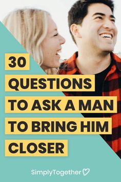 Getting to know your crush, boyfriend or husband is an endless fun journey, there are always more exciting layers to uncover! This article covers questions to ask to dig to the good stuff!