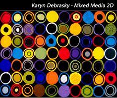 Bethesda Row Arts Festival - Oct. 19 & 20 - Karyn Debrasky - Mixed Media 2D - www.bethesdarowarts.org