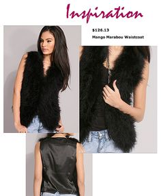 Luv it, jem Diy Fashion Vest, Look Fashion, Sewing Hacks, Sewing Tips, Sewing Projects, Asos, Diy Wardrobe, Clothes Crafts, Feather Boas