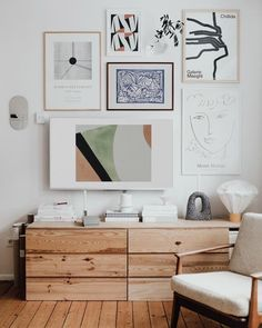 alltime everyday forever favorite spot perfectly captured by Bright living space with a vintage bar cart, a white sofa, and eclectic art ikea hack ivar ladenkast Tour the Hygge Home of Swantje Hinrichsen — Pine Cone Print Decor Room, Living Room Decor, Wall Decor, Wall Art, Framed Art, Living Rooms, Interior Design Inspiration, Home Decor Inspiration, Design Ideas