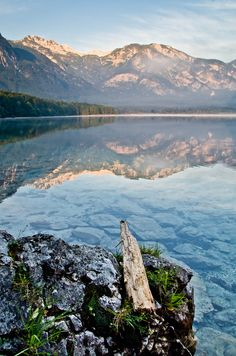 Bohinj Lake . Slovinia