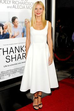 Gwyneth Paltrow in white!