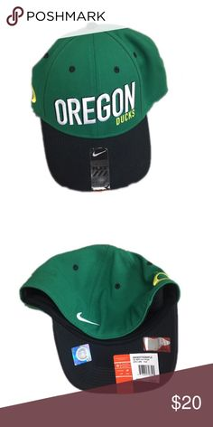 f253535fce4 Oregon Ducks Nike Flex Fit Hat Cap Brand new with tags officially licensed  Oregon Ducks Nike flex fit hat Nike Accessories Hats