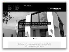 architecture classic WP theme