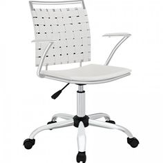 Modway Furniture Fuse Office Chair, White - EEI-1109-WHI