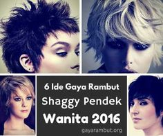 Trendy Haircut - gaya rambut shaggy pendek wanita 2016 http://bit.ly/1lpY6b1