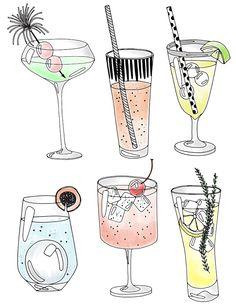 EmmaKisstina Illustrations by Kristina Hultkrantz: The B Bar