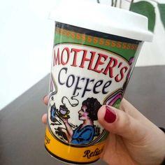 #Goodmorning!! Vamos a por un gran #cafelito :) Encontrar esta #taza para llevar en www.differentshop.es/tazas-y-vasos/141-taza-para-llevar-mother-coffee.html