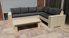 Loungebank met tafel