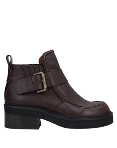 Buckle Solid color Elasticized gores Round toeline Geometric heel Leather lining Rubber sole Contains non-textile parts of animal origin Chelsea boots Shoe Boots, Ankle Boots, See By Chloe, Chelsea Boots, Oxford Shoes, Dress Shoes, Footwear, Animal, Heels