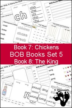 Free Homeschool Printables: BOB Books Set 5 Books 7 & 8 | Free Homeschool Deals ©