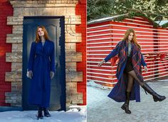 Get this look: http://lb.nu/look/8597117  More looks by Dony D: http://lb.nu/umbird  Items in this look:  Vipme Coat, Gammis Bag   #retro #romantic #street #streetstyle #redhead #beauty #beautiful #lookbook #tattoo