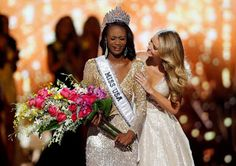 What Does Miss USA Win? Deshauna Barber    What Does Miss USA Win? Deshauna Barber  The Washington Post reports that Miss District of Columbia Deshauna Barber won the 2016 Miss USA pageant. ABC reports that the 26-year-old Army officer is the first-ever military member to be crowned Miss USA. She's headed to compete in the Miss Universe contest!  What Does Miss USA Win? Deshauna Barber  So what does Miss USA win?  Barber will receive an amazing apartment in New York City a scholarship to the…