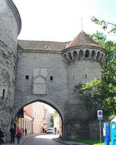 Большие Морские ворота и Башня Толстая Маргарита и эстонский морской музей