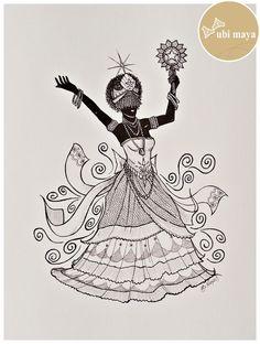 Orisha, Tattoo 2016, Magic Tattoo, Afro Art, Sacred Art, Gods And Goddesses, Deities, Black Art, Art Lessons