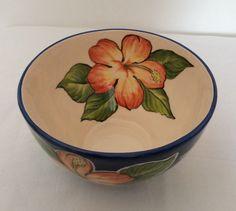 lindo bowll chita, feito em cerâmica e pintado a mão