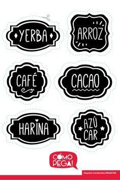 Etiquetas Stickers Calcos Autoadhesivos Frascos