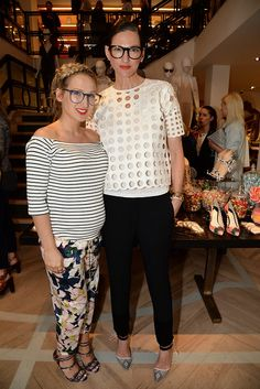Sophia Webster and Jenna Lyons [Photo by Courtesy]