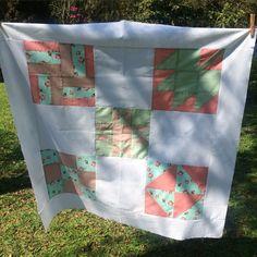 Manta de patchwork. ❤️