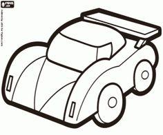 Omalovánka Safety car