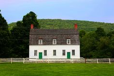 Shaker Meetinghouse, (originally from Shirley, MA) now at Hancock Shaker Village, Pittsfield, MA by sally davies photo on Flickr.