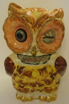 Vintage Shawnee Pottery Owl Cookie Jar USA | eBay