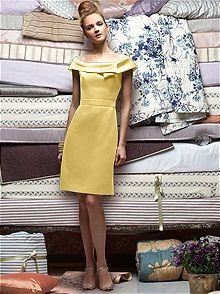 Lela Rose #yellow #bridesmaid #dress