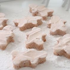 These marshmallows both look and taste like gingerbread men!