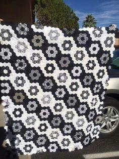 Hexigon quilt