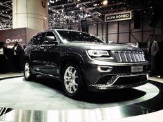 2014 Jeep Grand Cherokee w wersji Summit jest rewelacją targów w Genewie!
