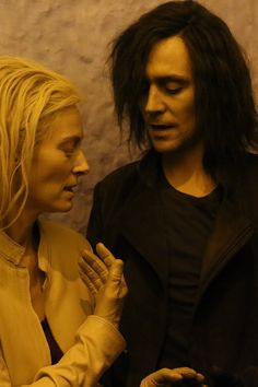 Tilda & Tom in Only Lovers Left Alive