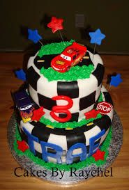 mickey mouse race car 3rd birthday cakes - Google Search