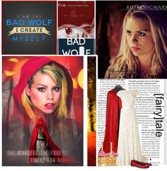 """""""Rose Tyler: Red Riding Hood"""" by lexieannmalfoy ❤ liked on Polyvore"""