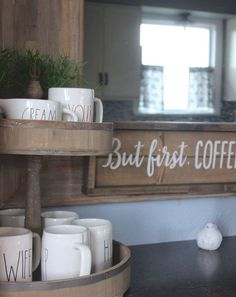 1000 ideas about coffee cup storage on pinterest mug for Affordable furniture reno nv