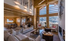 Chalet M has one of the most enviable locations in Morzine - sitting high on the sunny side of the town, with spectacular panoramic views across the resort to the slopes of Pleney and Nyon beyond!  http://www.skiinluxury.com/france/morzine/chalet-m